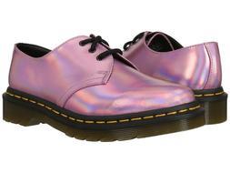 NIB Dr. Martens Women's 1461 RS 3-Eye Shoe Mallow Pink / Sil