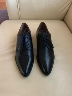 NWOB Women's Frye Erica Oxford Shoes In Black Size 6