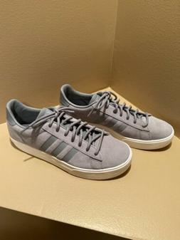 NWOT Men's ADIDAS Daily 2.0 Gray Suede Casual Basketball L