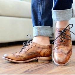 Nwt $200 Bed Stu Lita women's Leather Oxford wingtip shoes t