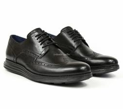 Cole Haan OriginalGrand Wingtip Oxford Black Leather Shoes C