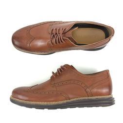 Cole Haan OriginalGrand Wingtip Oxford Brown Style Mens Size
