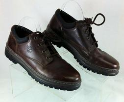 Timberland Oxford Shoes Dark Brown Size 10.5M Excel Cond Wal