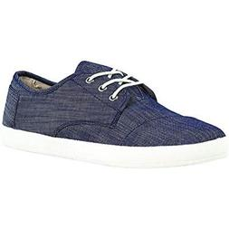 Toms Paseo Men's Chambray Classic Slip-On Fashion Sneakers S