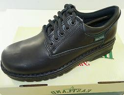 Eastland 'Plainview' Womens' Black Leather Lace Up Oxford  3