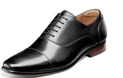 Florsheim Postino Cap Toe Balmoral Oxford Shoes Black 15175-