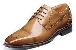 Stacy Adams Powell Cap Toe Oxford Shoes Tan 25246-240