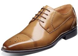 Stacy Adams Powell Cap Toe Oxford Shoes Tan 25246-240