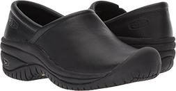 KEEN Utility Women's PTC Slip On II Work Shoe,Black,7 M US