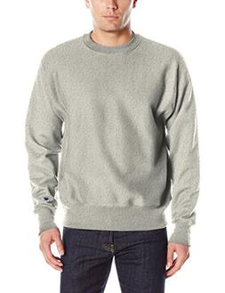 Champion LIFE Men's Reverse Weave Sweatshirt, Oxford Gray, L