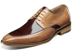 Stacy Adams Sanford Men's Shoes Moc Toe Oxford Tan Multi  25