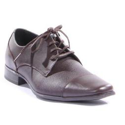 Calvin Klein Shoes Bram Diamond Oxford Men Brown Brand New
