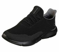 Skechers Shoes Men Black Memory Foam Sport Comfort Train Wal