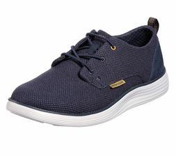 Skechers shoes Navy Men Memory Foam Casual Comfort Soft Wove