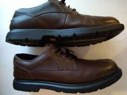 Timberland Size 13 M Brown Leather waterproof Casual Oxford