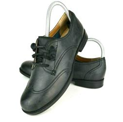 Sperry Devon Womens size 7 Ivy Black Leather Slip On Wing Ti