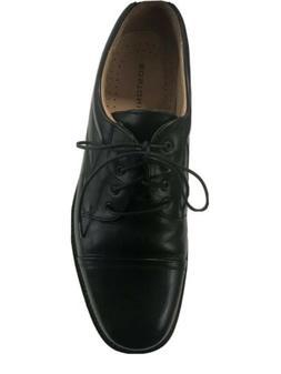 BOSTONIAN STRADA Mens Black Cap Toe Oxford Shoes 9.5 M Made
