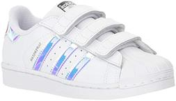 adidas Originals Superstar CF C Shoe ,White/White/Metallic S