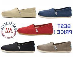 TOMS Women's Classic Canvas Slip Flats Shoes US Sizes Authen