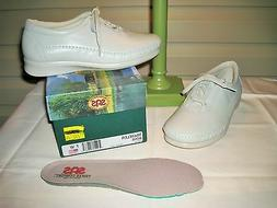SAS Traveler Women's Bone Comfort Oxford Shoes -- NEW IN BOX