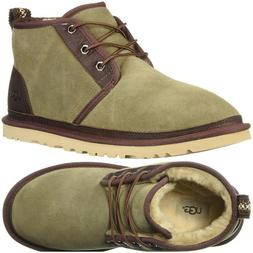 UGG Neumel Two-Toned Men's Pure Wool Lined Chukka Boots Taup