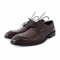 Unlisted By Kenneth Cole Mens Brown Leather Oxfords Derby Sh