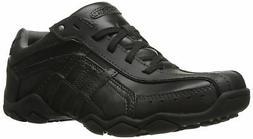 Skechers USA Men's Diameter-Guy Thing Oxford Sneaker,Black L