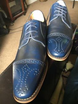 """UV Signature """"UV024"""" Men's Oxford Cap Toe Dress Shoes"""