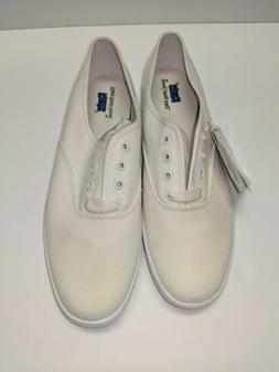 Vintage 90s Keds New Womens 9 Champion Oxford White Lace Up