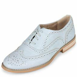 wanted babe womens lace up oxford new
