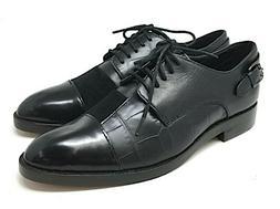 Coach Waverly Patchwork LEATHER Oxford BLACK Women Shoes Siz
