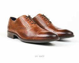 Cole Haan Wayne Cap Toe Men's Oxford British Tan Dress Shoes