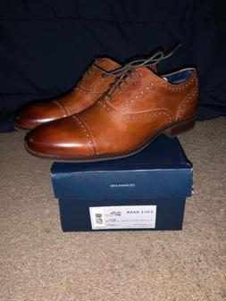 Cole Haan Wayne Cap Toe Size 10.5 Oxford Men's Leather Briti