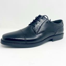 Bostonian  Wenham Cap 30510 Leather Black Mens Oxford Dress