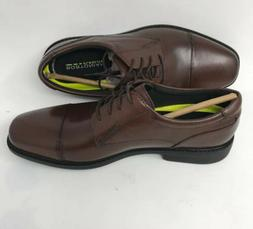 Bostonian WENHAM CAP Brown Mens Size 9M Work Leather Oxfords