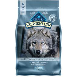 Blue Buffalo Wilderness Chicken Adult Dry Dog Food, 4.5 lbs.