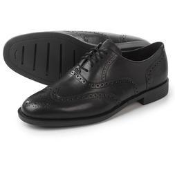 Cole Haan Wingtip Black Dustin Wing OX II C26660 Dress Shoe