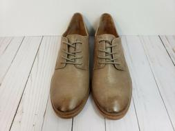 FRYE Women's Anna Oxford Ash Leather Shoes Lace Up Vtg 34792