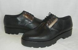 Vagabond Women's Aurora Black Leather Platform Oxford Shoes