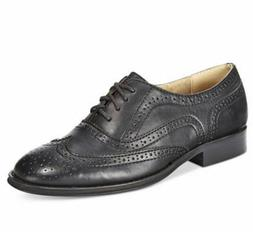 Wanted Women's Babe Lace-Up Oxford Black Size 7 M