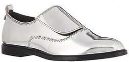 Calvin Klein Women's Dayo Metallic Oxford Flat