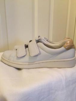 Calvin Klein Women's Leather White Oxford Shoes 8M NWOB