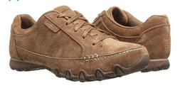 Skechers Women's Relaxed Fit Bikers Curbed Oxford Desert Oxf