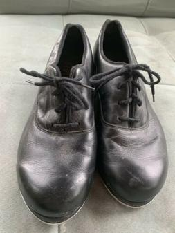 Women's Size 6 M Bloch Black Leather Oxford Tap Shoes-Shockw