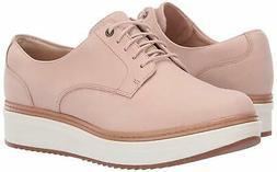 CLARKS Women's Teadale Rhea Oxford, Pink, Size 8.0 gC21