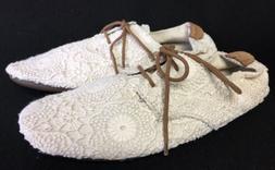 Sanuk Womens Bianca Crochet Oxford Lace Up Shoes Flats White