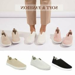 Women's Breathable Sneaker Loafers Comfortable Flat Shoes