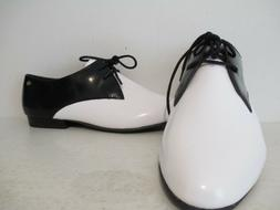 Bass Womens Grayson-1 Leather Oxford Casual Ballet Flat Shoe