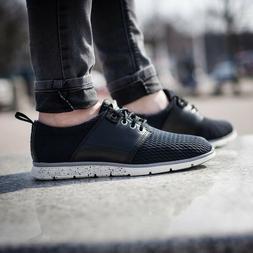 Womens Timberland Oxford Shoes Killington Black Leather Mesh