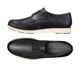 Womens Timberland Oxford Shoes Lakeville Black Leather Oxfor
